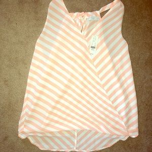 New York and company halter. White and pink size M